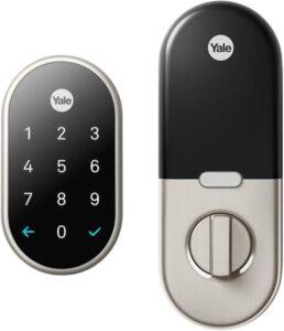 Google Nest Yale Lock - Smart Lock Deadbolt System For Google Home