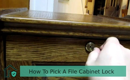 How To Pick A File Cabinet Lock