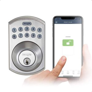 Reagle Smart Deadbolt Lock Apple HomeKit certified Works with Siri, iOS & Android