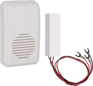 STI-3300 Wireless Doorbell Extender with Receiver Connects to Existing Hardwired Doorbell