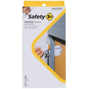 Safety First Adhesive Magnetic Child Safety Lock System