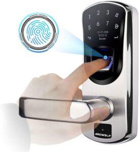 fingerprint smart door locks in 2021 - best fingerprint door locks