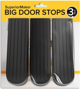 SuperiorMaker Door Closer, Security Door Wedge Large Rubber Door Stops