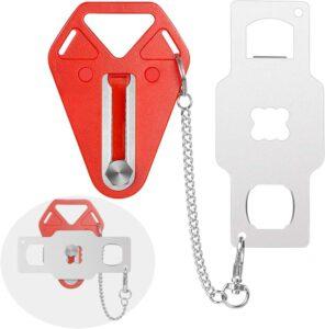 Travelers Security Portable Door Lock