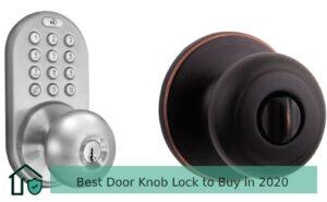 Best Door Knob Lock 2020