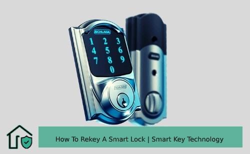 How To Rekey A Smart Lock Smart Key Rekey Technology