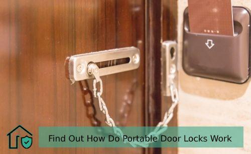 How do Portable Door Lock works