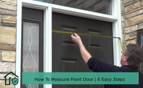 How To Measure Front Door
