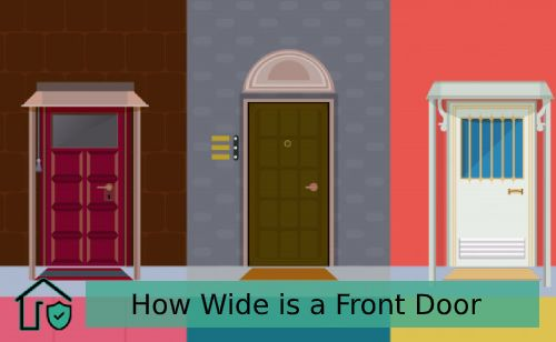 How Wide is a Front Door