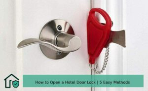 How to open a hotel door locks
