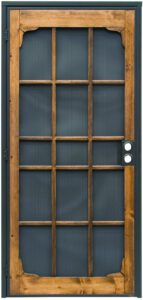 Prime-Line (3809BZ3068-I-WF) Wood Guard Steel Security Door