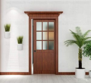 The Frame and the Door