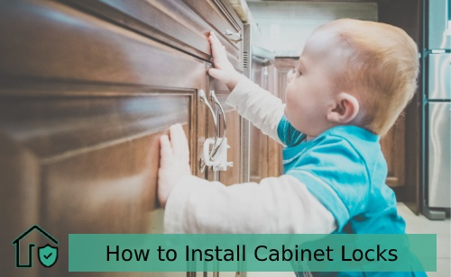 How to Install Cabinet Locks