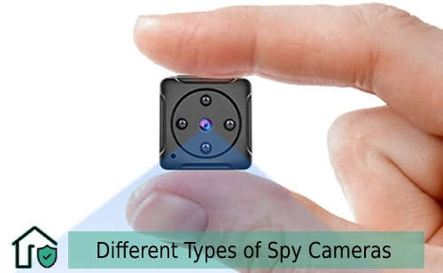 Different Types of Spy Cameras