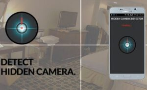 How do Smartphones Detect Hidden Cameras
