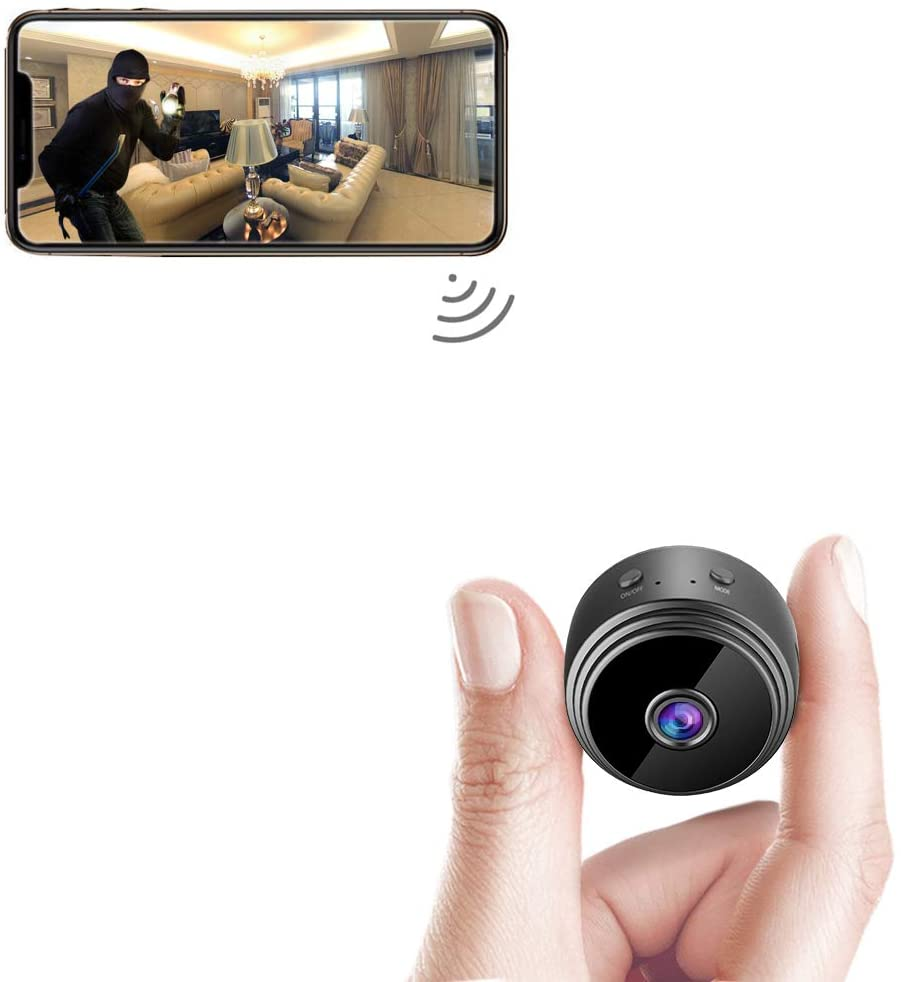 spy Camera Wireless Hidden WiFi Mini Camera HD 1080P Portable Home Security Cameras