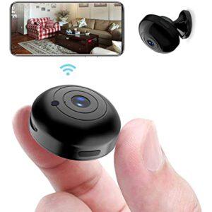 OUCAM Spy Camera Mini Hidden Camera 1080P Wireless Spy Cam - best wireless spy camera