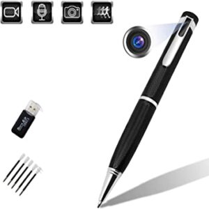 Mini Spy Camera 1080P HD 150 Min Battery Life with 32GB Memory for Business Conference and Security - best battery-powered spy cam