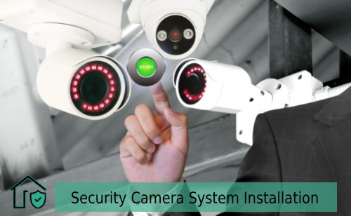 security camera system installation for home