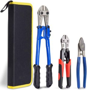 KOTTO Bolt Cutter Pliers Set - Best Cable Cutter